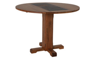Sunny Designs Sedona Drop Leaf Slate Table