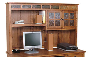 Sunny Designs Sedona Rustic Oak Hutch Top Only