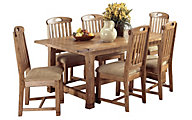 Sunny Designs Sedona 7 Piece Trestle Dining Set