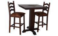 Sunny Designs Santa Fe 3-Piece Slate Dining Set