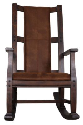 Sunny Designs 1935 Collection Wood Rocker with Cushion