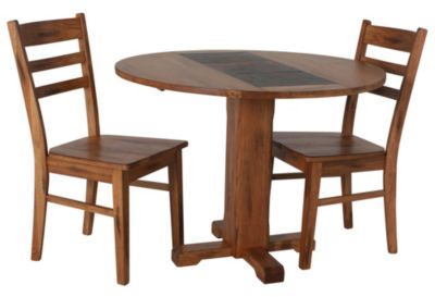Sunny Designs Sedona 3-Piece Drop Leaf Table Set
