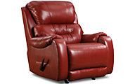 Southern Motion Sting Leather Rocker Recliner