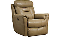 Southern Motion Flicker Tan Power Rocker Recliner