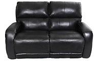 Southern Motion Fandango Leather Reclining Loveseat