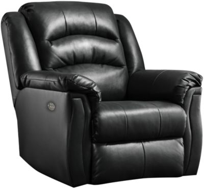 Southern Motion Max Leather Power Rocker Recliner