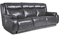 Southern Motion Velocity Power Reclining Sofa with Power Headrest