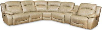 Southern Motion Eclipse 6-Piece Leather Power Reclining Sectional