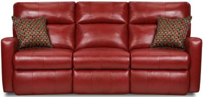 Southern Motion Savannah Leather Reclining Sofa