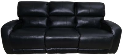 Southern Motion Fandango Leather Reclining Sofa w/Power Headrests