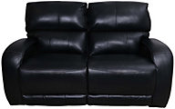 Southern Motion Fandango Leather Reclining Loveseat w/Pwr Headrest
