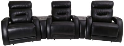 Southern Motion Viva 5-Piece Power Recline Home Theater Set