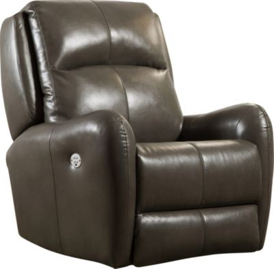 Southern Motion Pop Gray Power Wall Recliner