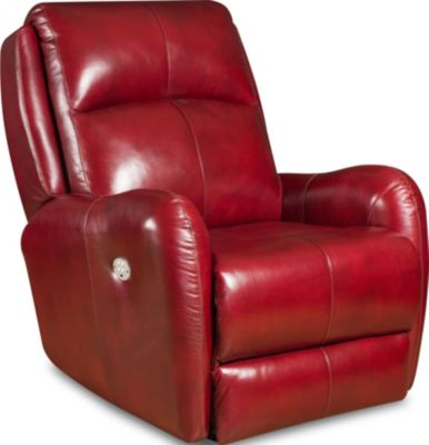 Southern Motion Pop Red Power Wall Recliner