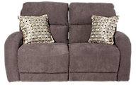 Southern Motion Fandango Reclining Loveseat with Pillows