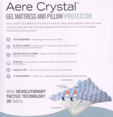 Southern Textiles, Inc. Aere Crystal Gel Full Mattress Protector