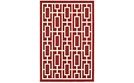 Sphinx Meridian Red 5' x 8'
