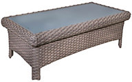 South Sea Rattan St. Tropez All-Weather Wicker Outdoor Coffee Table