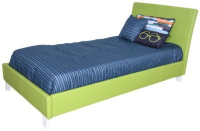 Standard Furniture Fantasia Green Twin Bed