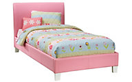 Standard Furniture Fantasia Pink Twin Bed