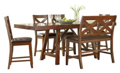 Standard Furniture Omaha 6-Piece Counter-Height Dining Set