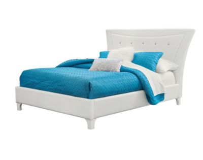 Standard Furniture Vogue White Queen Bed