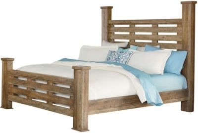 Standard Furniture Montana Queen Poster Bed