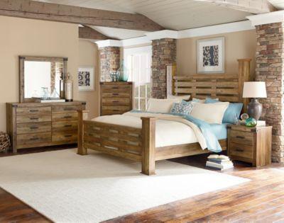 Standard Furniture Montana 4 Piece Queen Poster Bedroom Set. Standard Furniture Montana 4 Piece Queen Poster Bedroom Set