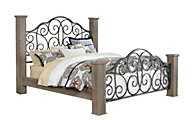 Standard Furniture Timber Creek Queen Bed