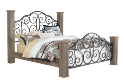 Standard Furniture Timber Creek King Bed