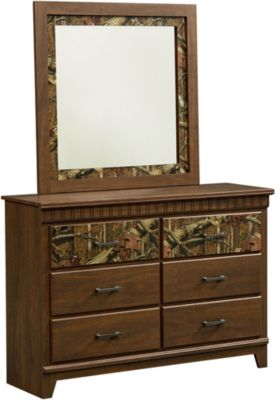 Standard Furniture Solitude Dresser with Mirror