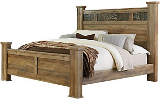 Standard Furniture Habitat King Poster Bed