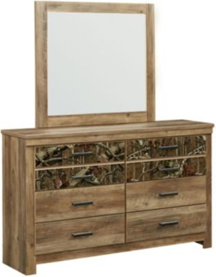 Standard Furniture Habitat Dresser with Mirror