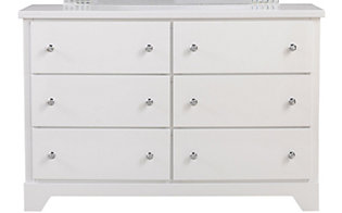 Standard Furniture Marilyn White Dresser