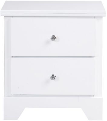 Standard Furniture Marilyn White Nightstand