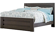 Standard Furniture Stonehill Dark Queen Mansion Bed