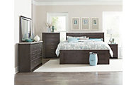 Standard Furniture Stonehill Dark 4-Piece Queen Bedroom Set