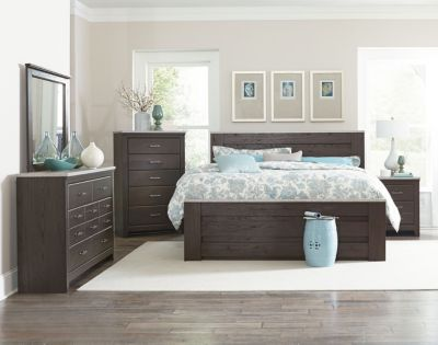 Standard Furniture Stonehill Dark 4-Piece King Bedroom Set