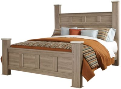 Standard Furniture Stonehill King Poster Bed