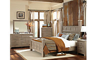 Standard Furniture Stonehill 4-Piece King Poster Bedroom Set