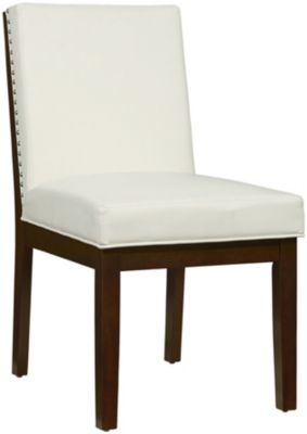 Standard Furniture Couture Elegance White Side Chair
