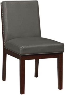 Standard Furniture Couture Elegance Gray Side Chair