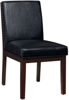 Standard Furniture Couture Elegance Black Side Chair