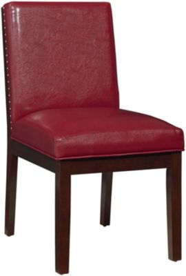 Standard Furniture Couture Elegance Red Side Chair