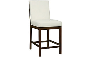 Standard Furniture Couture Elegance White Counter Stool