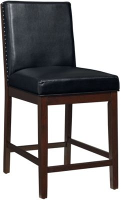 Standard Furniture Couture Elegance Black Counter Stool