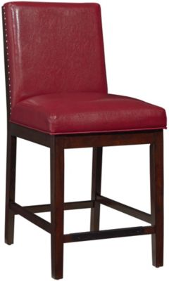 Standard Furniture Couture Elegance Red Counter Stool