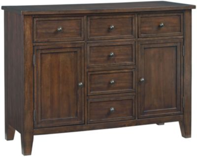 Standard Furniture Vintage Brown Sideboard