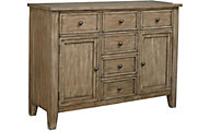 Standard Furniture Vintage Gray Sideboard