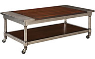 Standard Furniture Hudson Coffee Table with Casters
